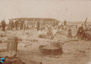 Pescatori alla marina di Pizzo Calabro