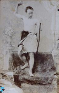 Diego Antonio Grillo nei panni di San Giovanni Battista